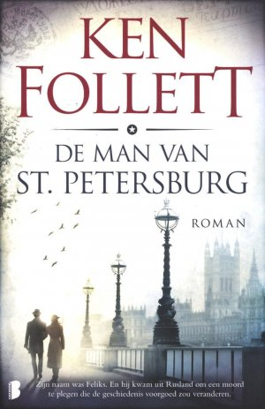 De man van St. Petersburg cover