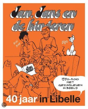 Jan, Jans en de kinderen - jubileumboek cover