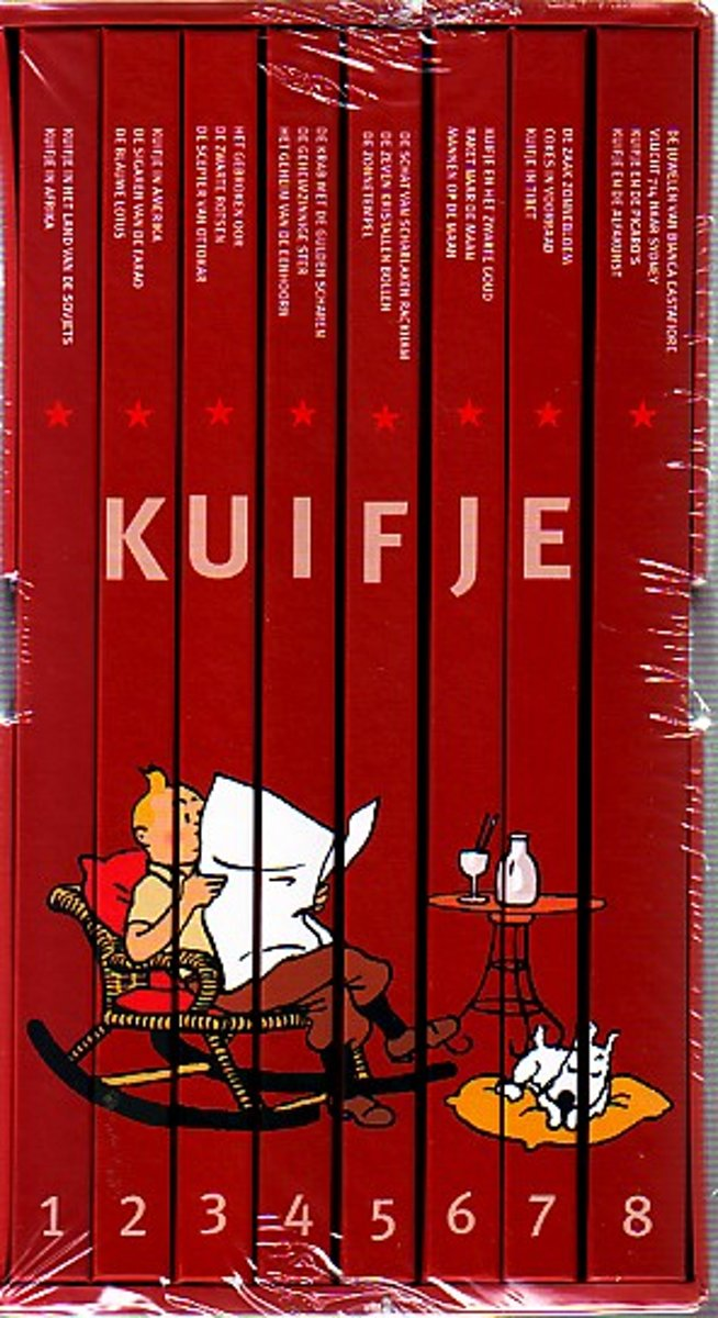 Kuifje - verzamelbox cover